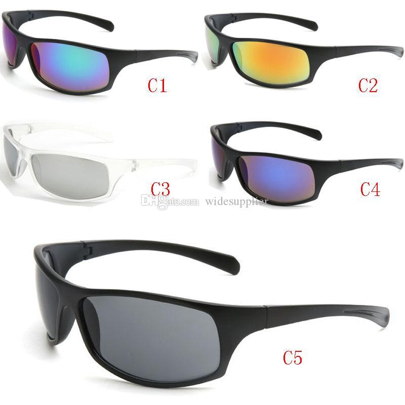 العلامة التجارية التكلفة النظارات الشمسية مصمم للرجال والنساء في الهواء الطلق ساحة نظارات نظارات مصمم الصيد واقيات شمسية ركوب النظارات 5 ألوان