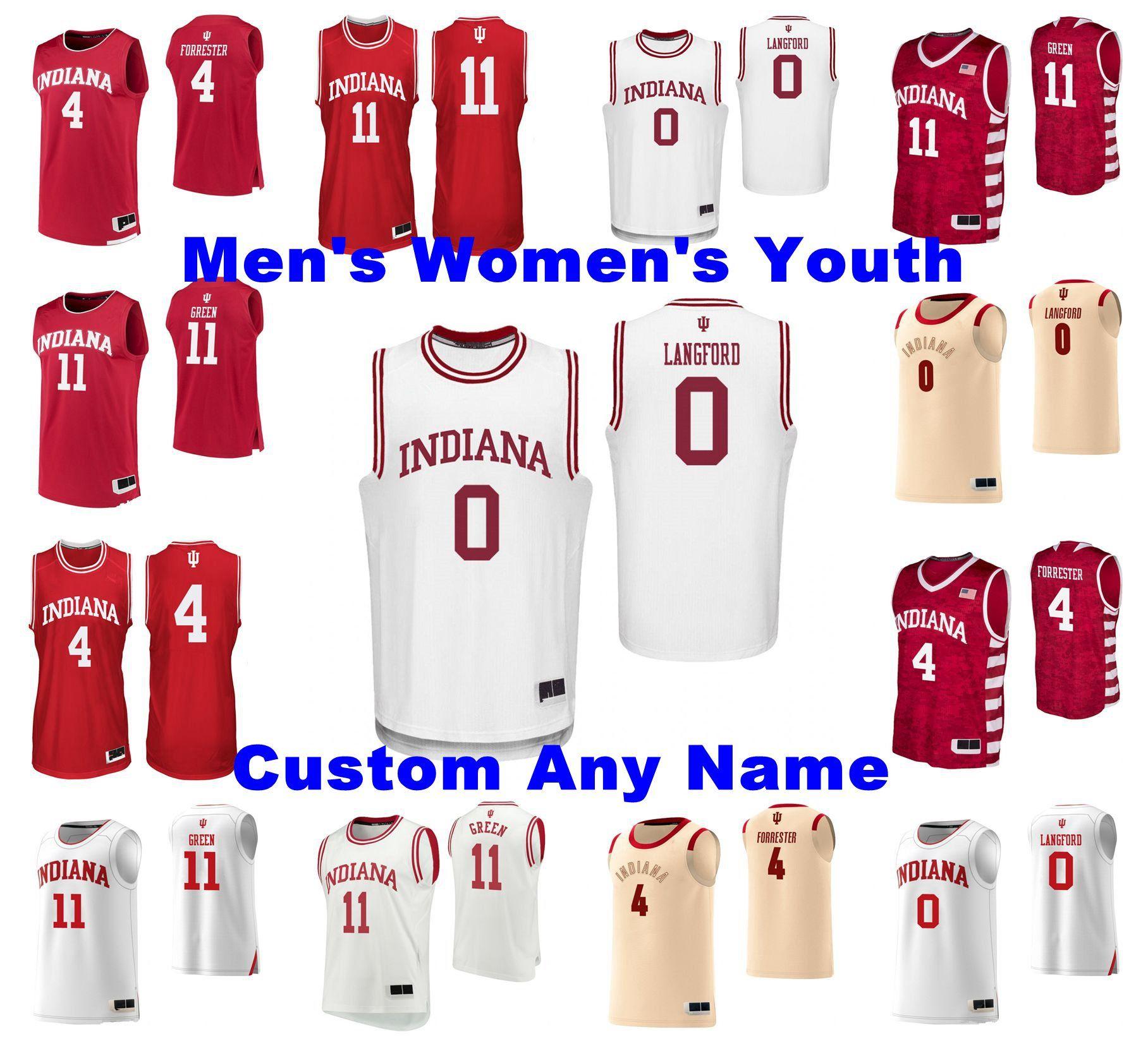 2021 NCAA Indiana Hoosiers Jerseys Aljami Durham Jersey Armaan ...