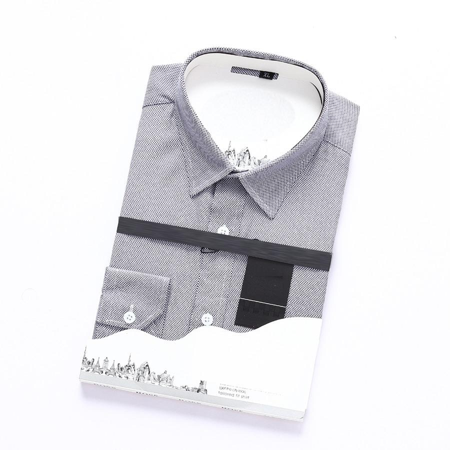 men T-shirt Plaid Casual Men Shirts Mens Long Sleeve Dress Shirts Cotton Shirt Men Shirt Plus Size Slim Fit