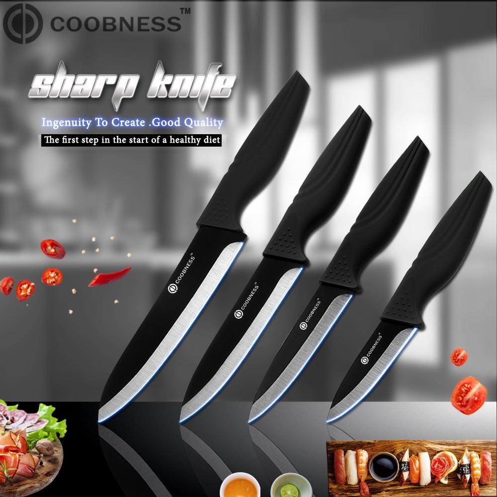 العلامة التجارية الخزف سكين 3 بوصة 4 بوصة 5 انج 6 بوصة سكاكين المطبخ زركونيا الأسود بليد الفاكهة الشيف السكاكين خضار الطبخ أداة