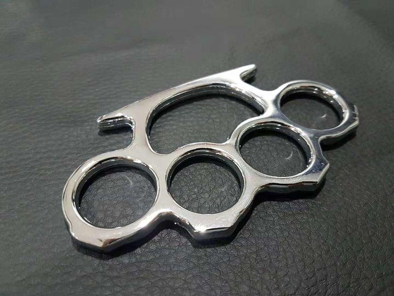 20PCS de plata y oro Negro fina de acero plumeros de nudillo de cobre de la autodefensa del engranaje envío
