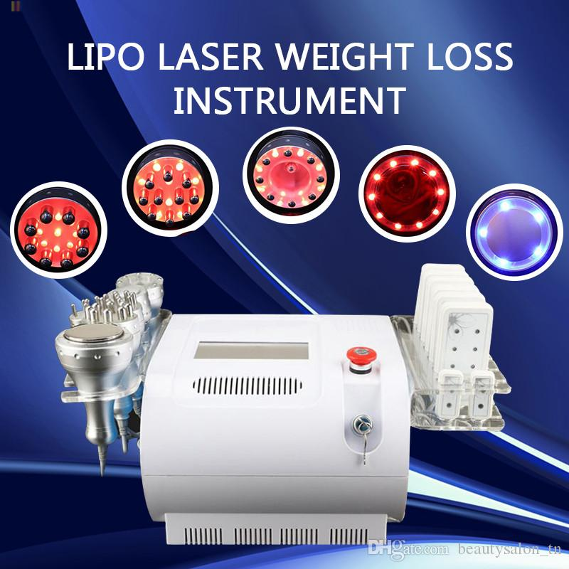 Personal cavitation machine vacuum lipo laser beauty equipment infrared Bipolar and Tripolar rf radio frequency machine