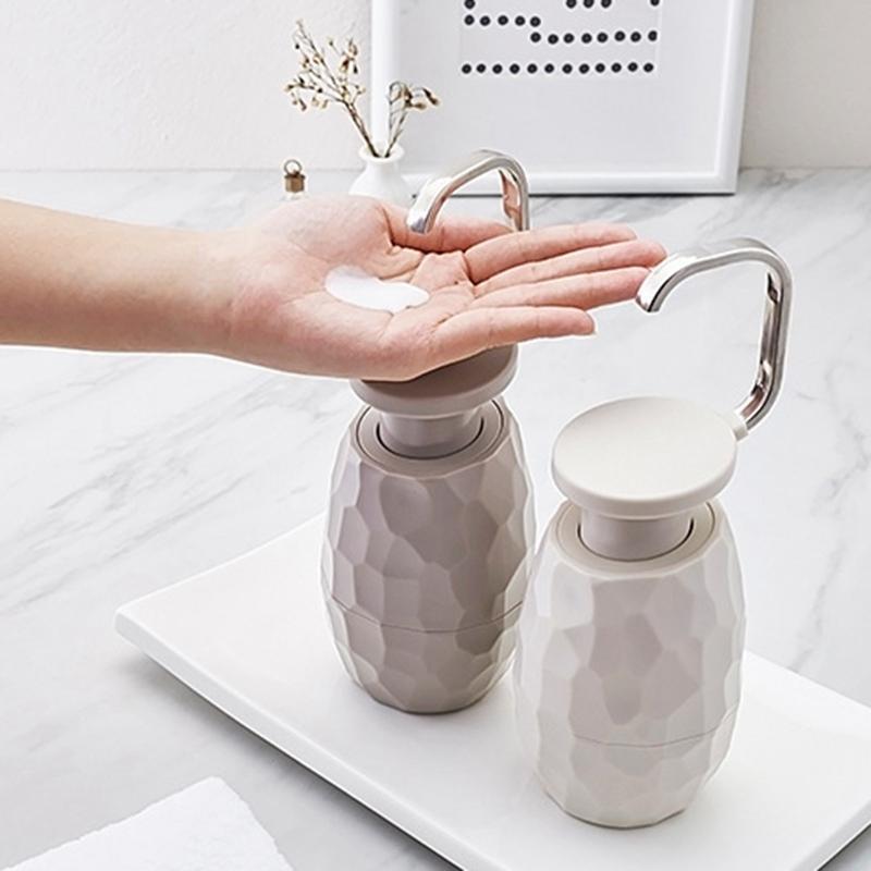 400ML الإبداعية واحدة صابون الصيدلي الوجه منظف جل الدش زجاجة صديقة للبيئة للمنزل فندق اكسسوارات الحمام