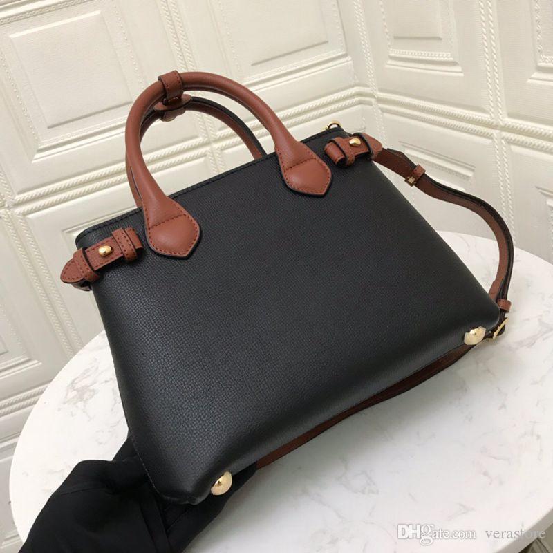 VeraStore 26CM TOP الصف البقر جلدية فاخرة حقائب اليد حقائب الكتف مصمم الجودة حقيبة للمرأة الماركات الشهيرة أنثى