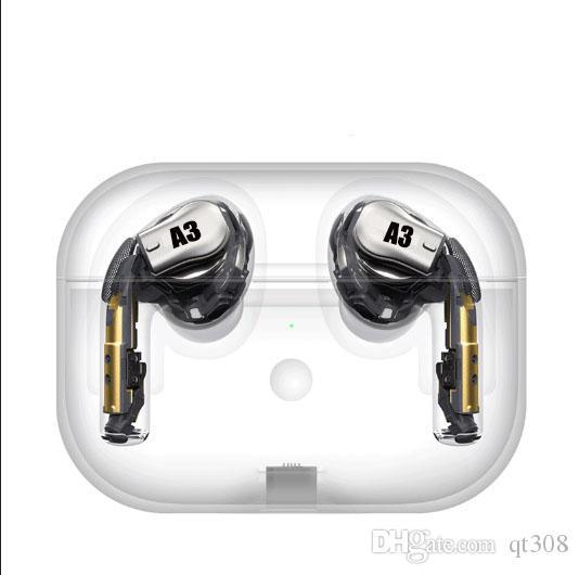 H1 chip A3 Pro Wireless Charging Generation 3 Bluetooth Headphones Auto paring Earphones with pop up window pk i200 i9s i12 i500 TWS
