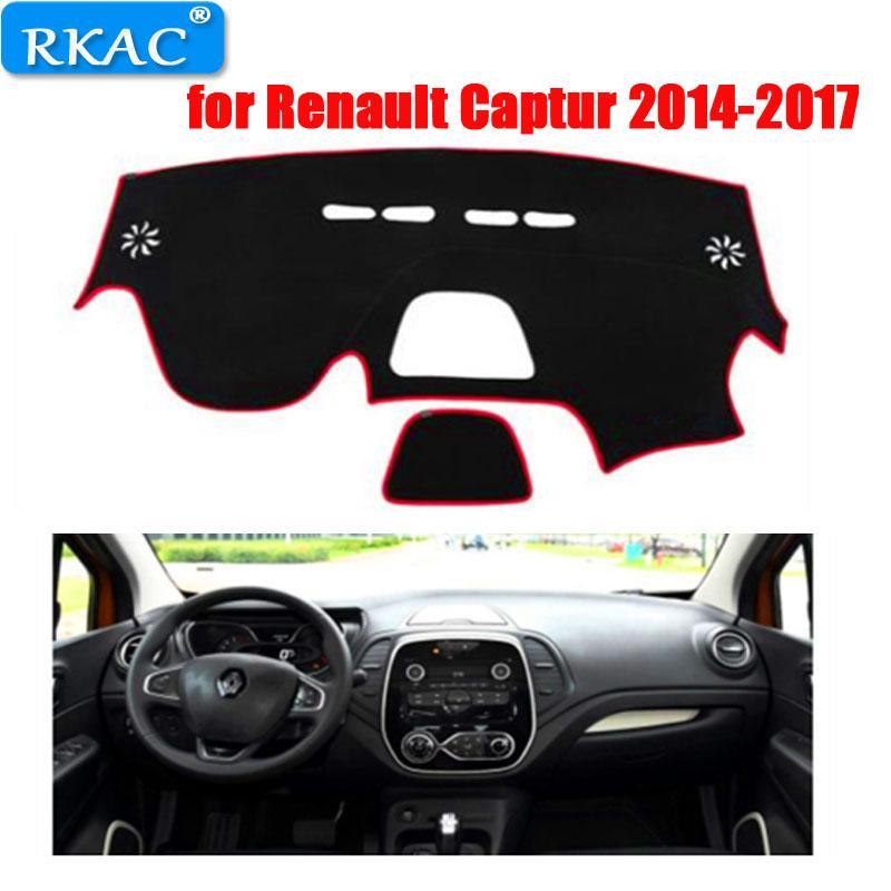 RKAC левый ручной привод приборной панели автомобиля коврик чехол для захва 2014-2017 спортивный стиль авто приборной панели коврик для захва