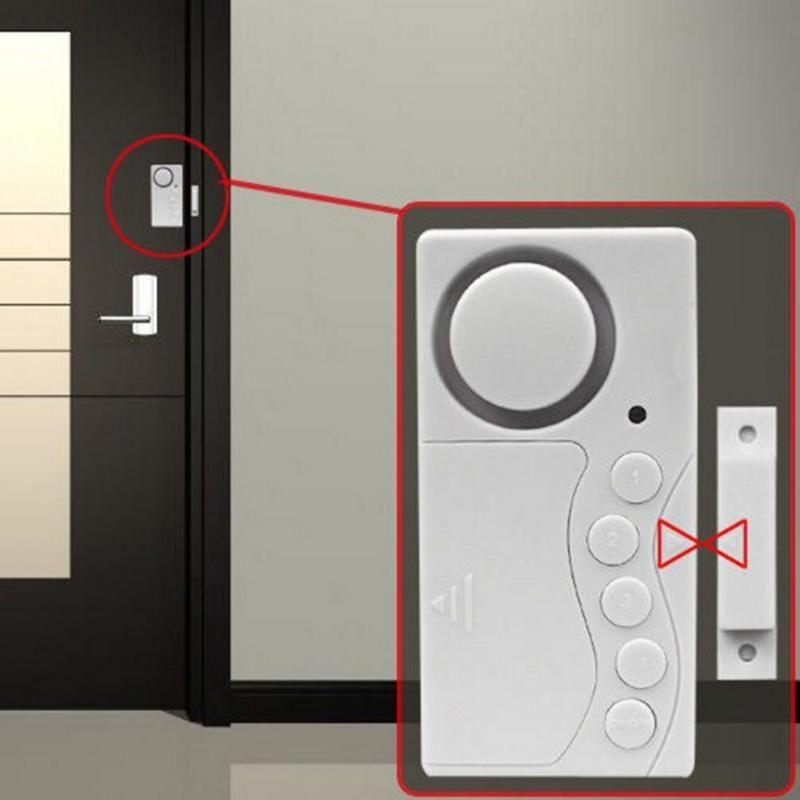 Magnetic Sensor Warning Door Window Motion Burglar Wireless Alarm System Entry Security Home Guarding Alarm Detector car