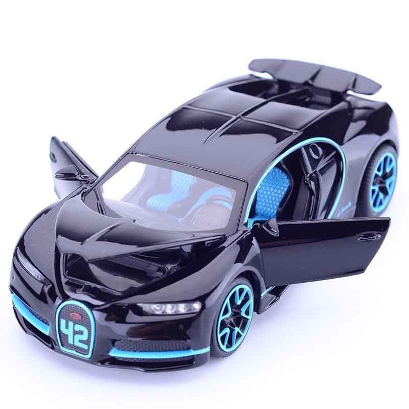 1:32 Simulación Bugatti Chiron Colección Modelo de Aleación de Coches de Juguete Diecast Metal Coche Juguetes Para Adultos Niños J190525