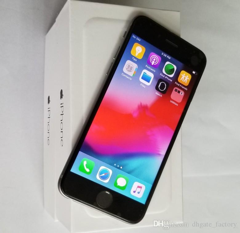 ابل اي فون 6 4.7 بوصة IOS 12 نظام 4G شبكة مقفلة الهاتف المجدد