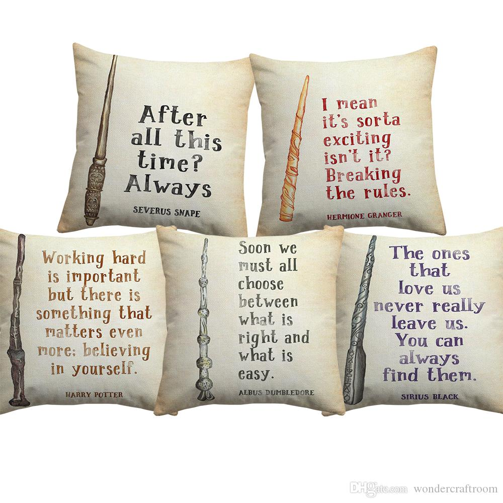 Harry Potter Gifts Large Luxury Cushion with Pad or Cushion Cover