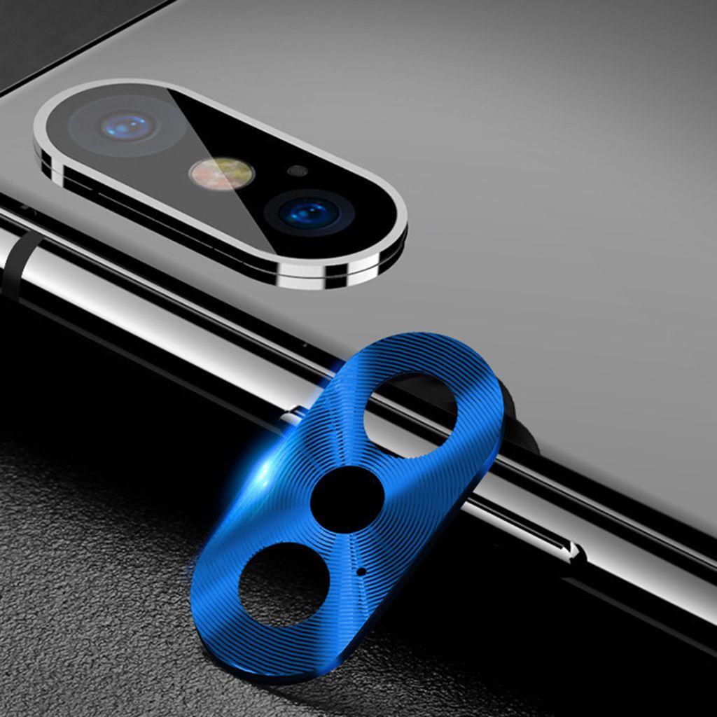 Mercek Koruyucu Yüzük Çember Metal Kamera Lens Koruyucu için Apple IPhone X