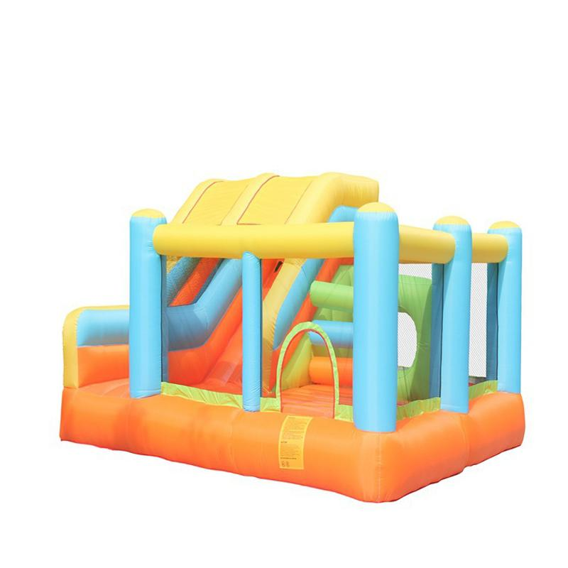 Kids Ladder Bouncer Inflatable Combo Units Sale Family Inflatable Bounce House Bouncy Castle with Air Blower for Kids Party