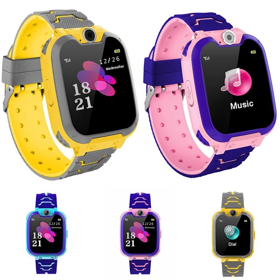 Moda Rapazes Raparigas Crianças Crianças Estudantes Esporte Digital Led Watches New Mens Womens Touch Screen Rubber presente Silicone Relógios # 800