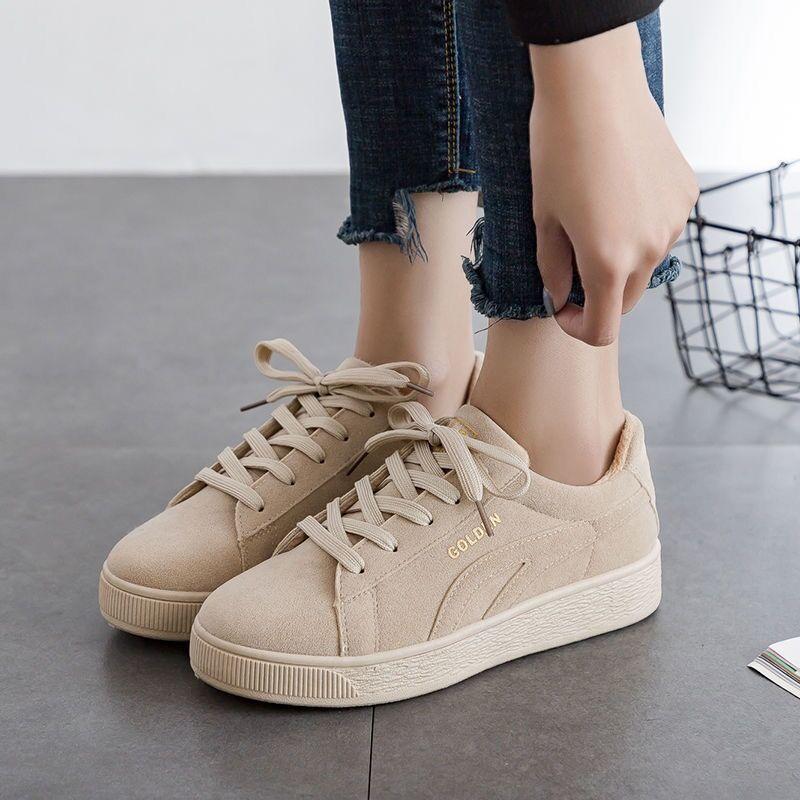 2020 Katı Bej Siyah Tuval Ayakkabı Kadınlar İlkbahar Yaz Lace Up Bayanlar vulcanize Ayakkabı Nefes Kadınlar Sneakers Y200424 Seyahat