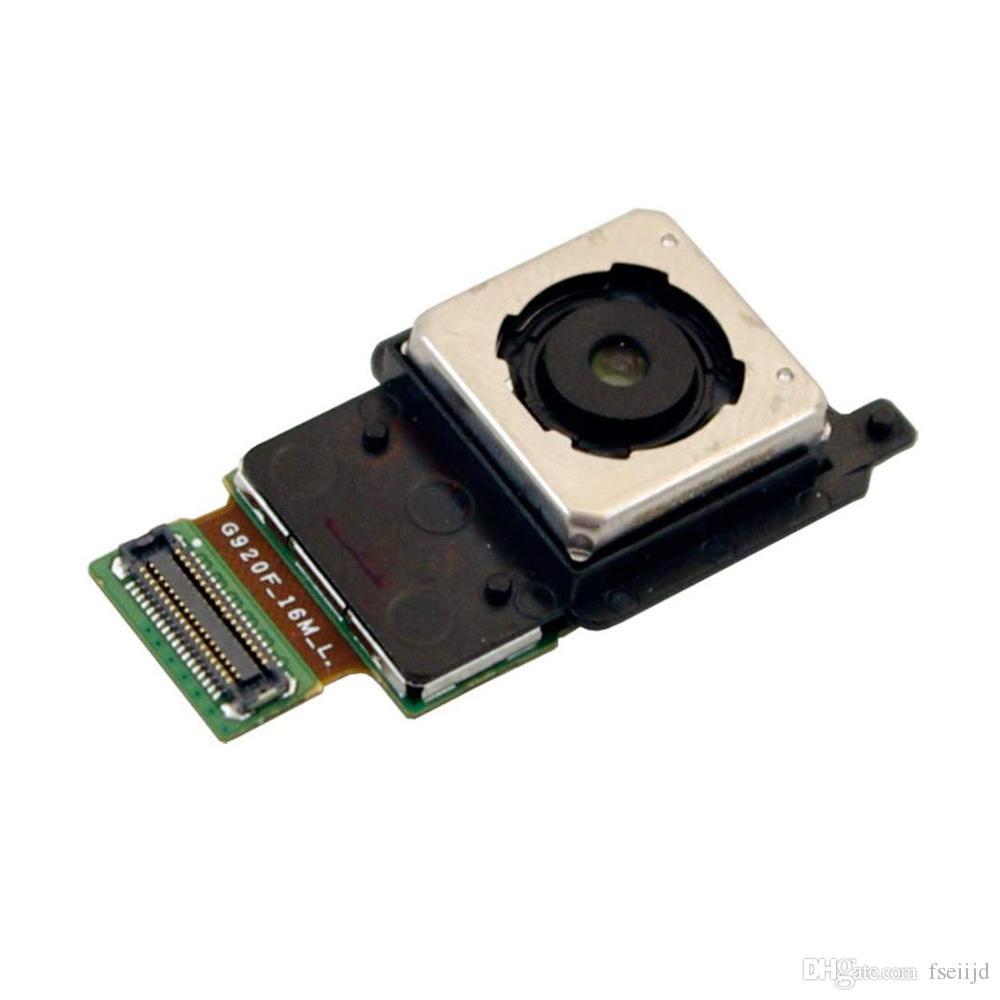 50Pcs OEM Per Modulo galassia S6 G920F S6 bordo G925F principale posteriore Back Camera Flex Cable