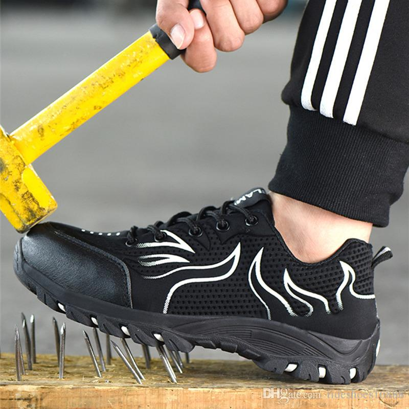 2020 Steel Toe Safety Shoes Men