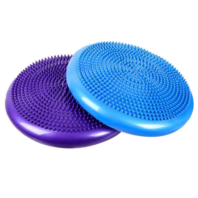 Balance Kissen Indoor Yoga PVC Balance Mat Doppelseitige Kleine Convex Massage Punkt-Multi-Funktions-Tragender Explosionsgeschützte Yoga-Matte