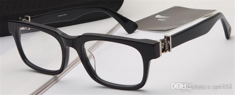 새로운 빈티지 안경 디자인 Gittinany 안경 처방전 처방전 스팀 펑크 작은 프레임 스타일 남성 투명한 렌즈 명확한