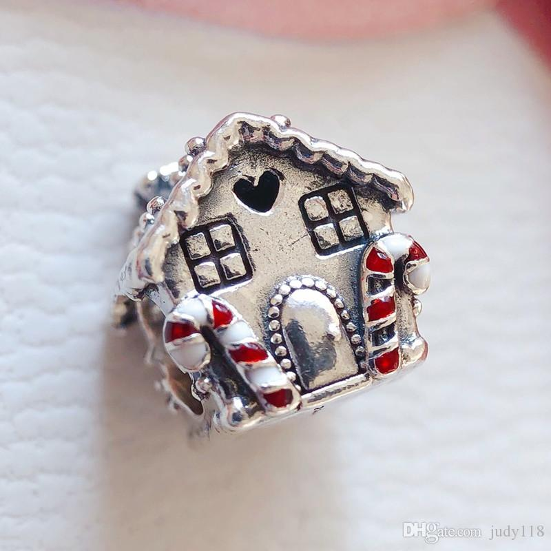 2021 Gingerbread House Charm 925 Sterling Silver Home Sweet Heart Beads Fit Pandora Style Charms Bracelets Necklace Diy Christmas Gift 798471c01 From Judy118 10 87 Dhgate Com