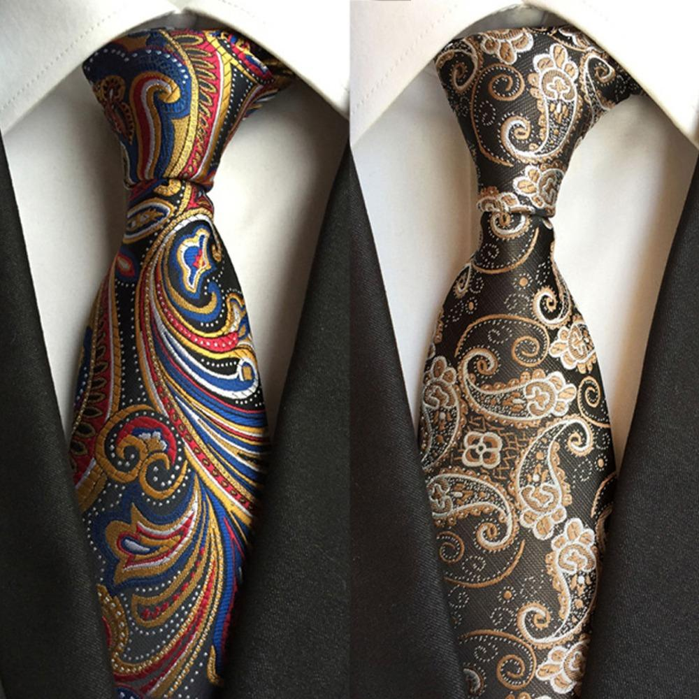 New men/'s polyester woven neck tie necktie prom turquoise blue pattern formal
