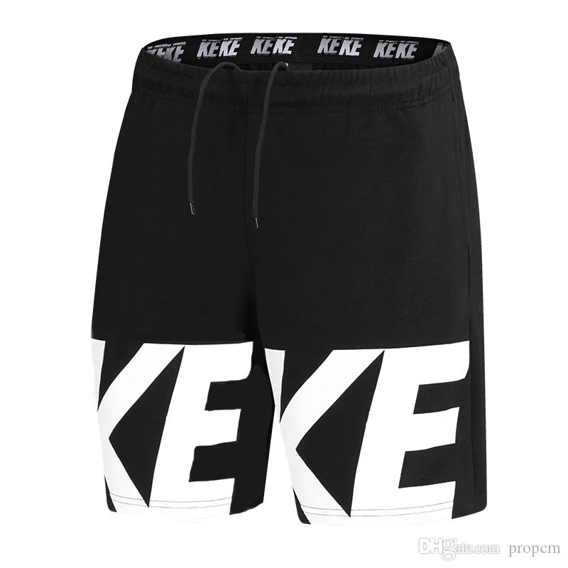 Bicchierini del bordo di alta qualità del Mens Abbigliamento sportivo Estate Shorts Mens casuali della spiaggia Shorts con lettere Moda Pantaloni corti Uomo Intimo Uomo