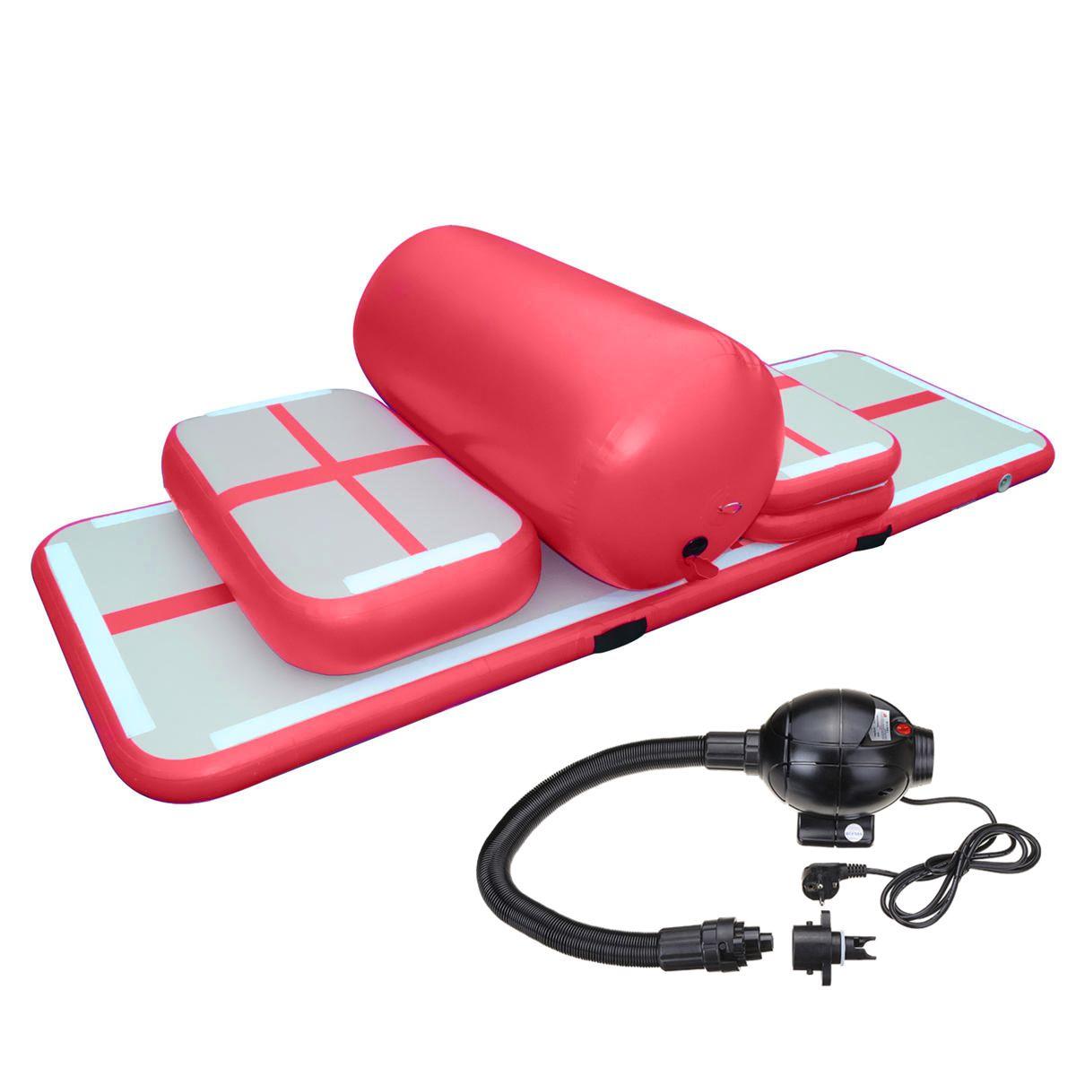 إسقاط الإبرة نفخ الهواء المسار مجموعة للبيع معدات اللياقة البدنية نفخ الهواء السقطة المسار مصنع بالجملة نفخ Airtrack التدريب