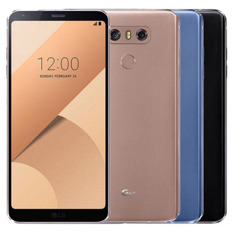 Refurbished Original LG G6 Plus G6+ H870DSU Dual SIM 4G LTE 5.7 inch Quad Core 4GB RAM 128GB ROM Unlocked Android Smart Phone DHL 1pcs