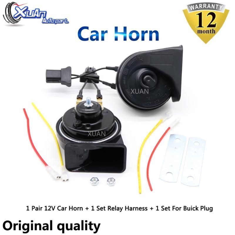 XUAN Car Auto Horn Snail Horn For old GL8 Excelle XT GT Enclave Regal Lacrosse ENVISION ENCORE Verano VELITE 5 GL6 VELITE6