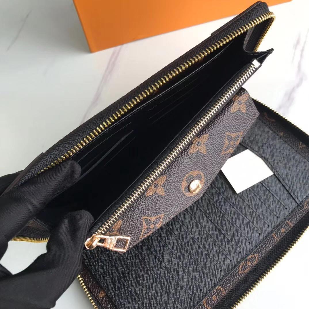 Monedero multifuncional nuevo de las mujeres de lujo bolsa de mensajero bolsas de hombro Crossbody la buena calidad de diseñador monederos Bolso de las señoras de los hombres de bolso 2-74
