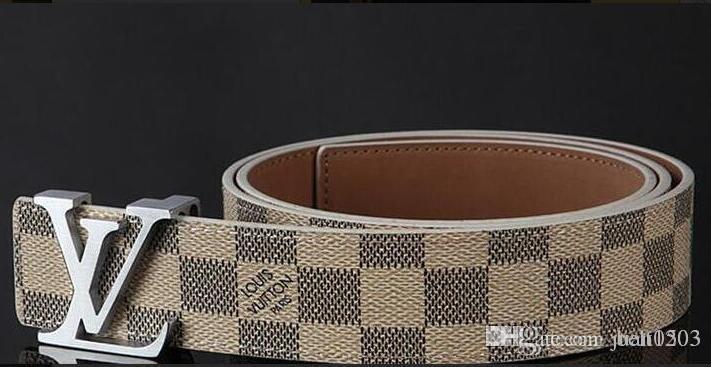 2020 Nova Marca Cintos Designer Men alta dos homens da qualidade Cintos de luxo de couro genuíno Pin Buckle Casual Belt Cós