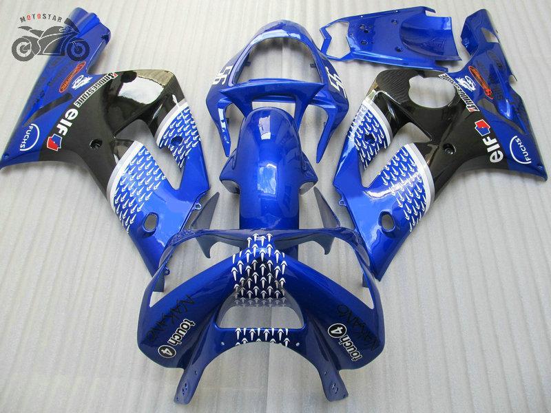 川崎忍者ZX-6R 2003 2004 ZX6R 636 03 04 ZX 6R ZX-6フェアリング