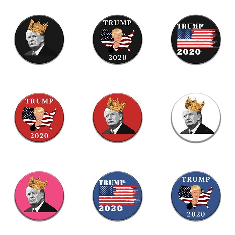 10 Las PC 1 refrescan Alas Trump divisa del bordado parches Para Plancha para la ropa Patch apliques Accesorios de costura en etiquetas engomadas de tela Hierro # 35