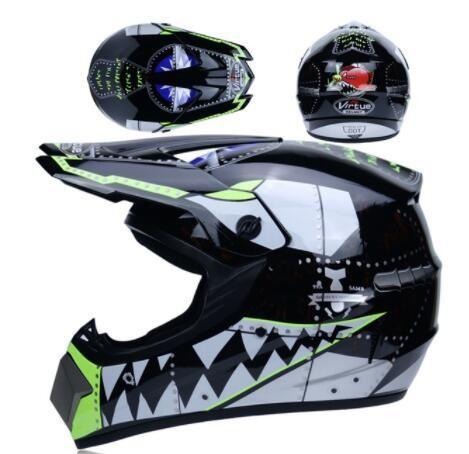 Super Light Helmet Motorcycle Racing Bicycle Helmet Cartoon Children ATV Dirt bike Downhill MTB DH cross Helmet capacetes