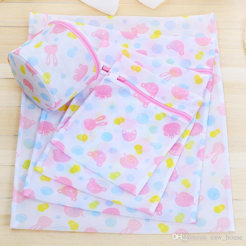 Mesh Wash Wash Bags Specialized Underwear Washing Lingerie Bag Mesh Bra Washing Care Sacchetto della lavanderia Pulizia Sacchi per abbigliamento