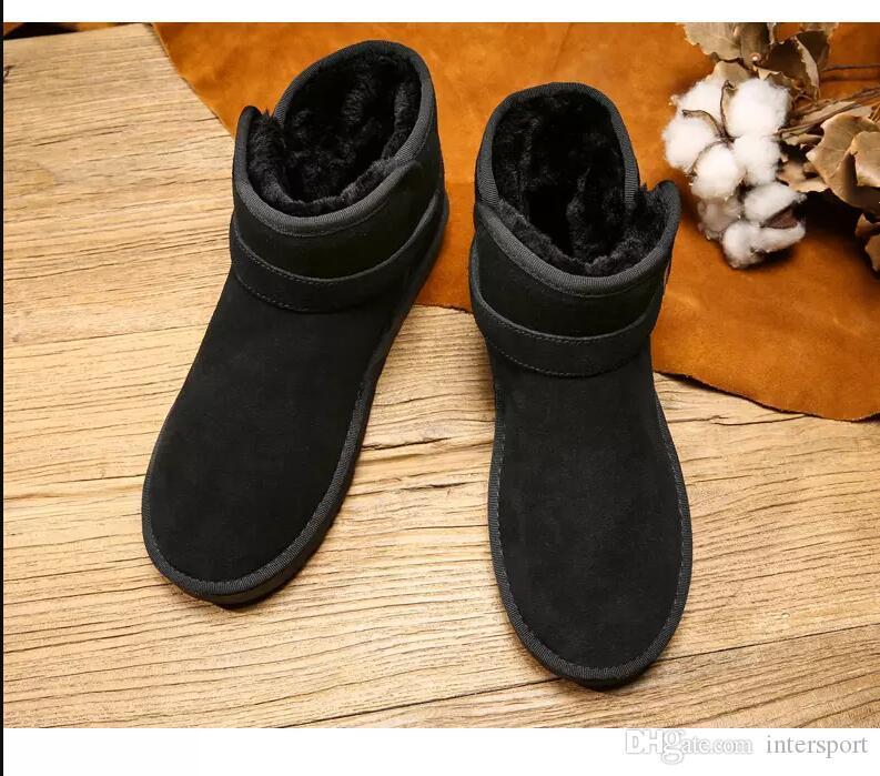 bottes de mode pour hommes, femmes marron noir bottillons hiver gris cheville au genou bottes chaudes des appartements confortables sneakers 36-45