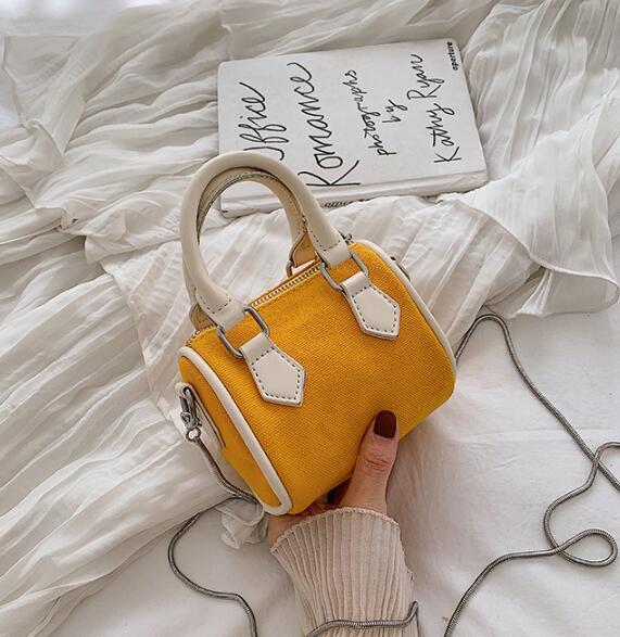 Çantalar Cüzdanlar Yeni Moda Kadınlar Boston Bag Tasarımcı Bayan Zincir Omuz Çantaları Mini Messenger Bag Toptan