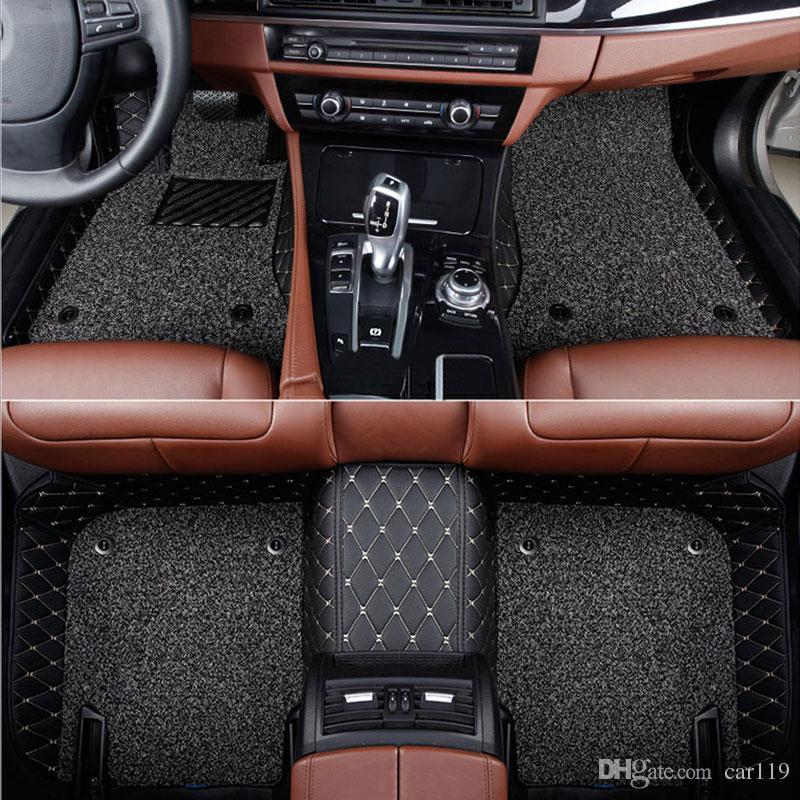 سجادات أرضية مخصصة لسيارة Infiniti q50 q50L Q70 QX70 QX60 fx EX JX G QX ESQ