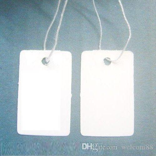 Free Shipping 500pcs/lot Label Tags Price Tags Card For Jewellery Gift Packaging Display 13mmX25mm LA02