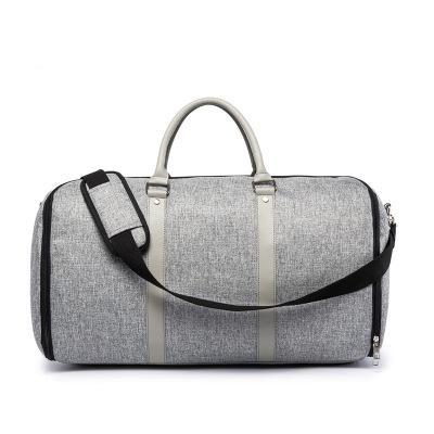 2020 мужчин одежды путешествия сумка с плечевым ремнем вещевой мешок Карри на висячие Чемодан Одежда Бизнес Несколько Карманы