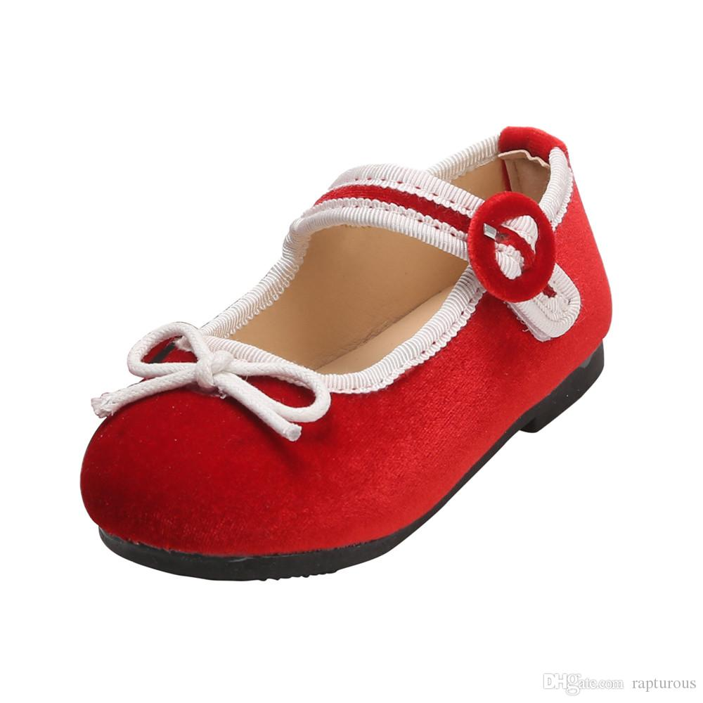 UK Princess Girls Kids Sandals Flat Shoes Bowknot Wedding Shoes Dress Shoes