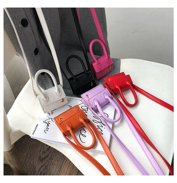 purse hook2020 new handbag wallet ins net red catwalk super mini bag mini small bag shoulder messenger portable decorative bag free delivery