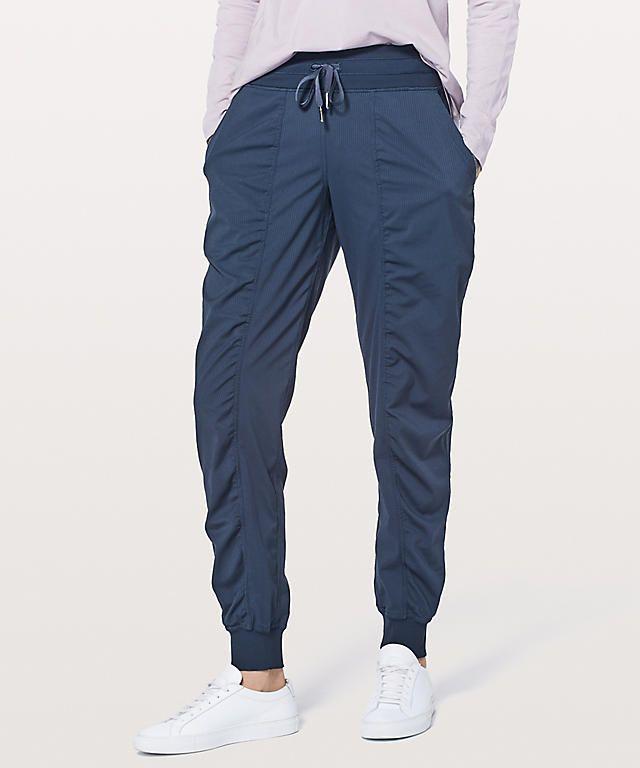 """LU-10 Nuovo Yoga Dance Studio Jogger 29"""" Sport allentati pantaloni casual in tessuto tasca di donne che gestiscono Gym pantaloni calzamaglia Lady sportivo"""