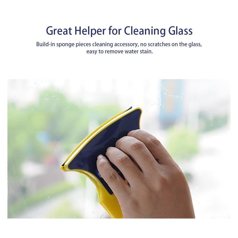 الوجهين المغناطيسي زجاج مسح فرشاة الرئيسية ممسحة النافذة الزجاج Cleanerfor غسل زجاج النوافذ تنظيف فرش منظفات الزجاج المغناطيسي