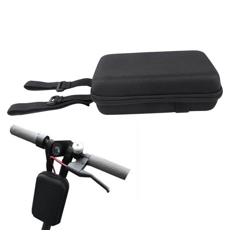 Universal Scooter elétrico Skate principal Handle Bag Scooter Hanging Bag Carregador Frente Ferramentas Acessórios Para Xiaomi Mijia M365