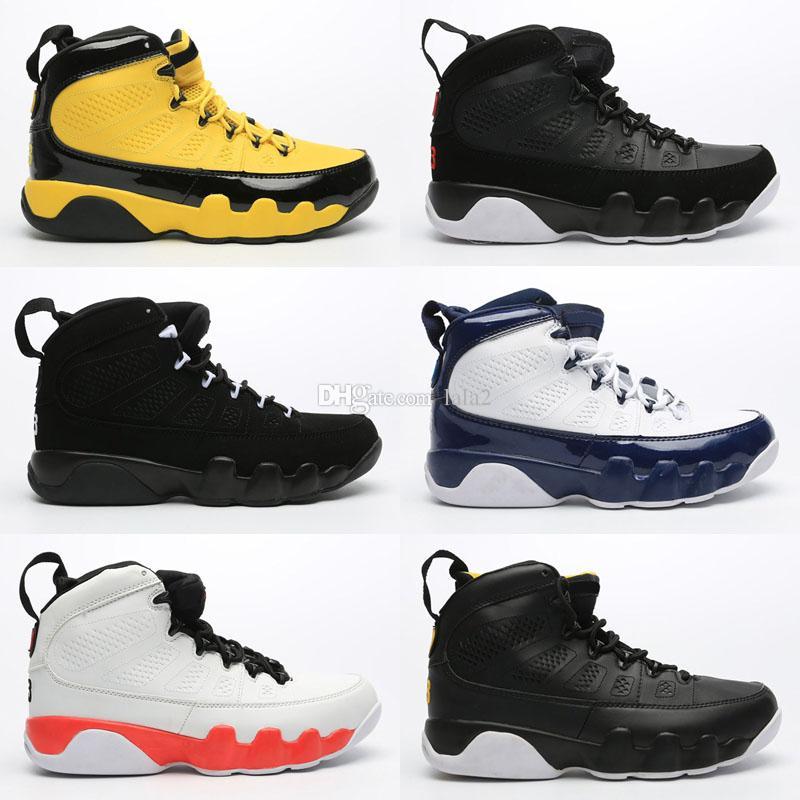 2020 Nouvelle Arrivée Jumpman 9 IX Retro Haute Chaussures de basket pour pas cher Vente Hommes Hot Vente Formateurs 9S air Sports Chaussures de sport