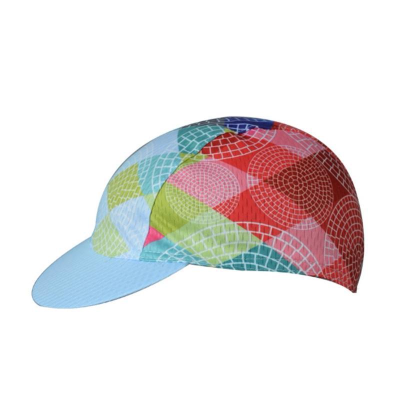 Pequeno Ciclismo Headwear Cap Leve respirável Pára-sol Anti-suor poliéster Sob capacete chapéu de bicicleta da bicicleta da equitação Nova