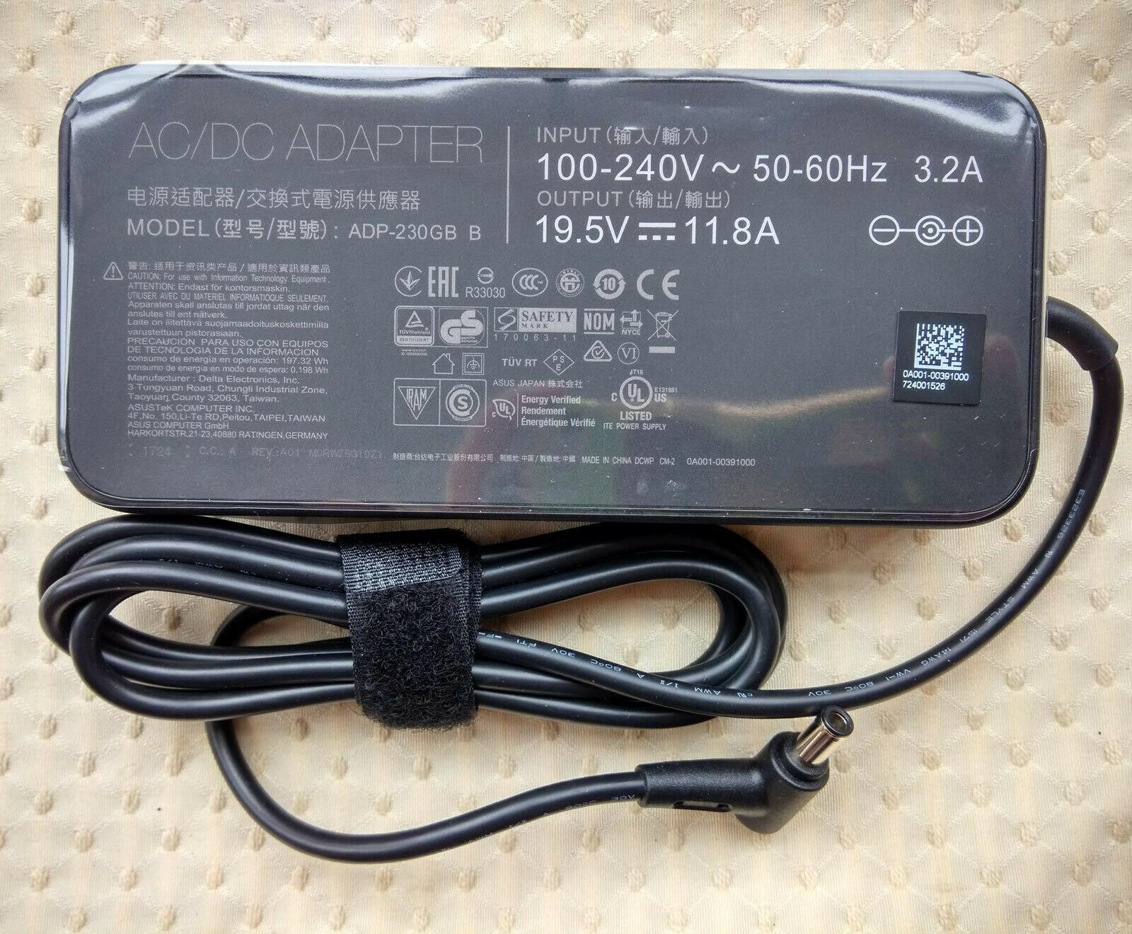Huiyuan Fit per ASUS ROG Zephyrus GX501VS-XS71, ADP-230GB B, 230W 19.5V 11.8A AC Adapter