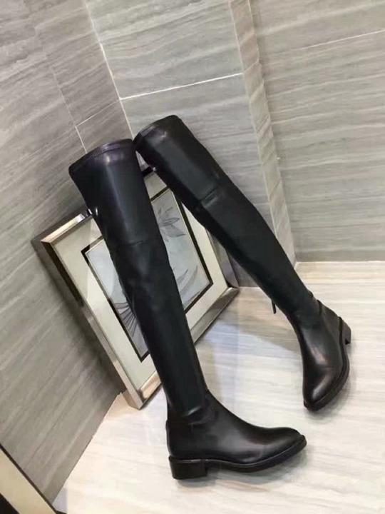 Thigh-High Boots Classic Elastic Boots Heel Women S Autumn And Winter New Leather Slim Shoes With Legs High Long Boots Girls jasmine11