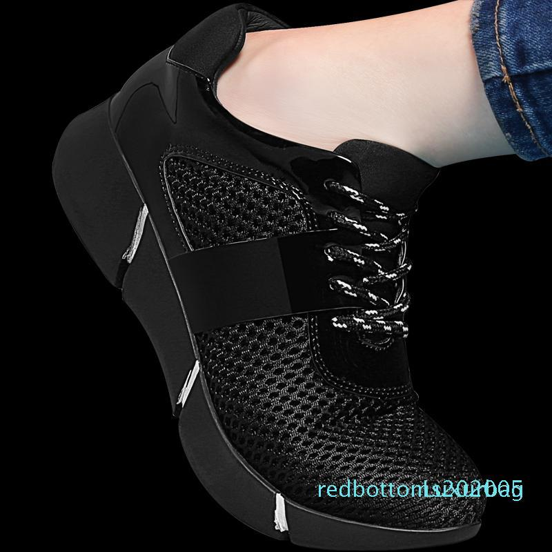 Marke Guciheaven Fashion Blumen-Sommer-Frauen Casual011 Schuhe Frauen-Ebene Breathable Ineinander greifen Höhe erhöhen Mädchen-Licht-weicher Schuh r05