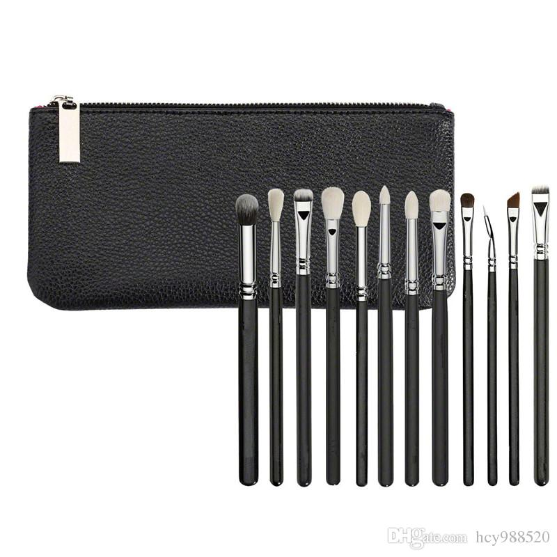Brushes Makeup Cosmetics Tool 12PCS/SET Complete Bag Kit Set Professional Organizer Bag Travel Small Large 12 Face Brushes Free DHL